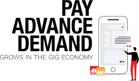 Pay advance demand grows in the gig economy