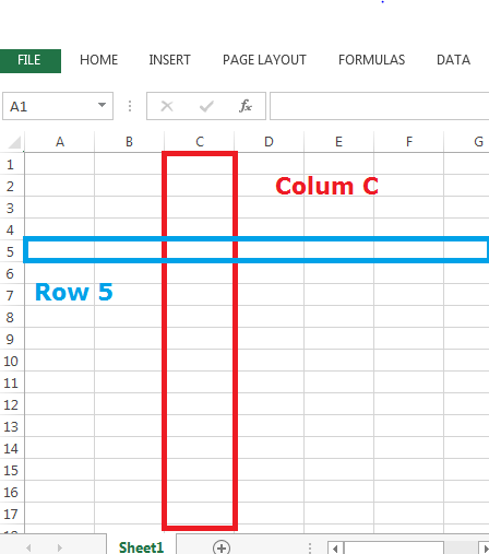 Understanding and Differences in Columns and Rows in Excel