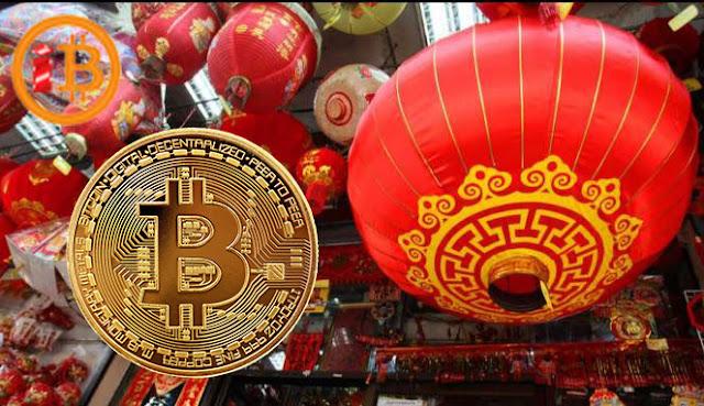 Harga Bitcoin Naik Menjelang Tahun Baru China