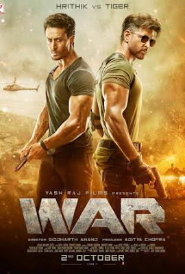 War 2019 Hindi 720p, 1080p, 480p full movie download