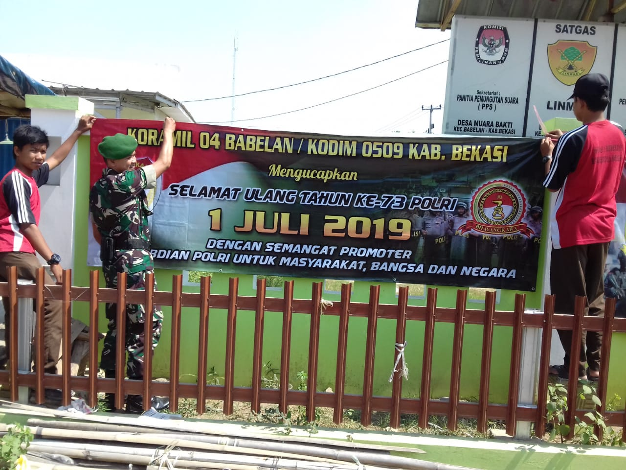 Banner Ucapan Selamat Ulang Tahun - contoh desain spanduk
