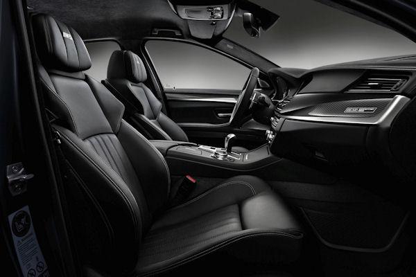 BMW M5 Competition Edition interior