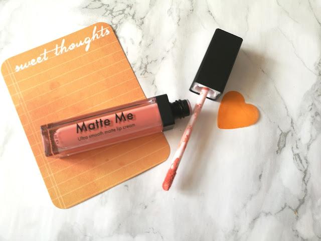 Sleek Matte Me Lip Cream Apricot Blooms