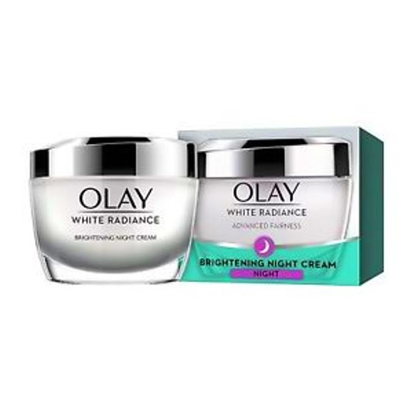 OLAY White Radiance Light Perfecting Night Cream.