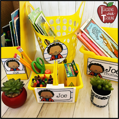 Personalized Kid Classroom Labels