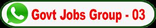 Latest govt job Whatsapp group Link -03