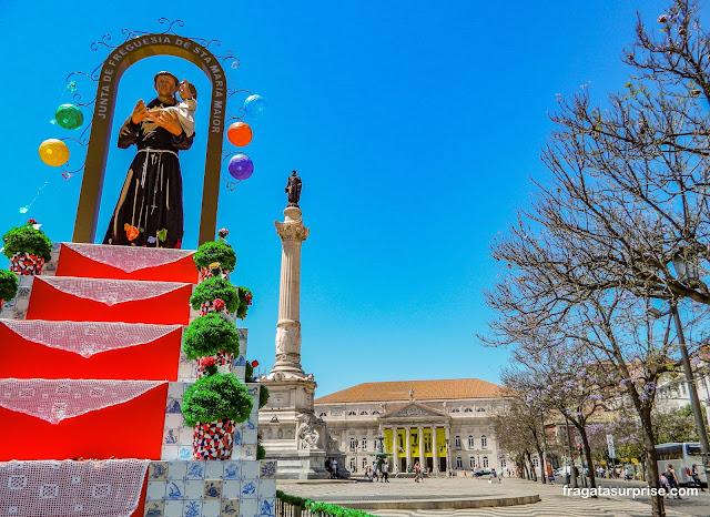 Altar de Santo Antônio no Largo do Rossio, Lisboa