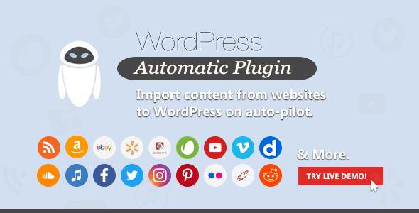 WordPress Automatic Plugin Free Download v3.50.1
