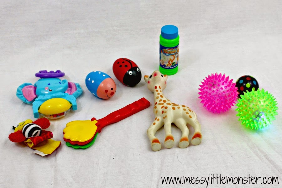 What to include in a treasure basket for babies