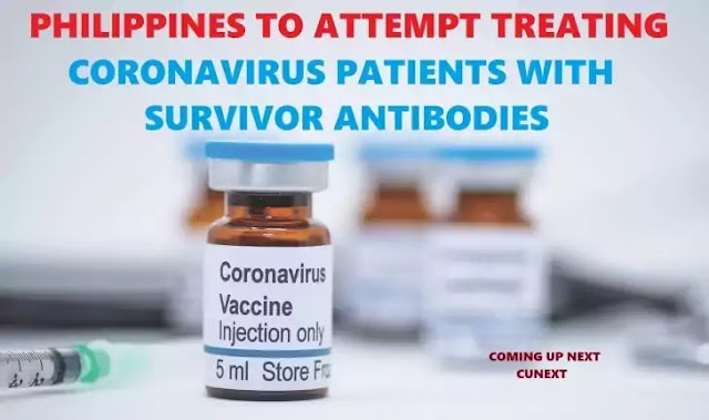Philippines-to-attempt-treating-coronavirus-patients-with-survivor's-antibodies