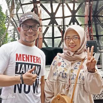 Revolusi Industri 4.0 dan Pesan Progresif Menteri Hanif Dhakiri di Kompasianival 2018