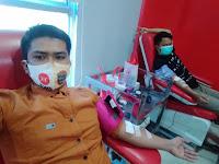 DARURAT !!! Humas PKS Kota Medan Donorkan Darah untuk Pasien Operasi