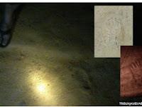 Heboh Jejak Kaki Misterius di Tepian Sungai Batanghari, Ukurannya Hingga 1 Meter!