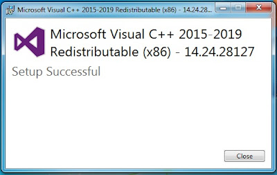 fix error install microsoft visual c++