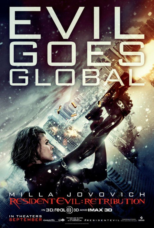 Film Thoughts Video Game Movie Month Resident Evil Retribution