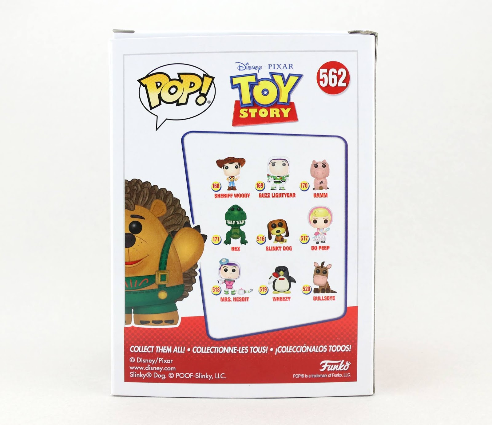 sdcc toy story mr. pricklepants funko pop