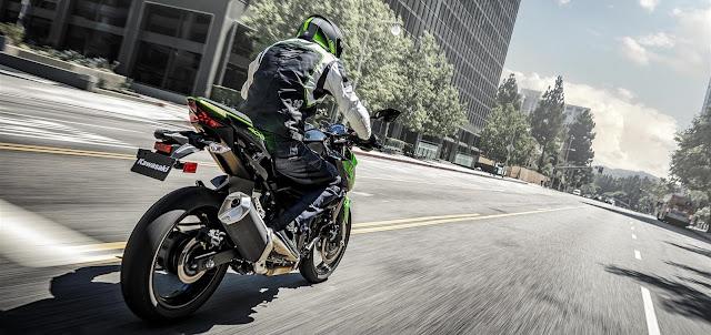 Kawasaki Z250 2019 sudut terbaik