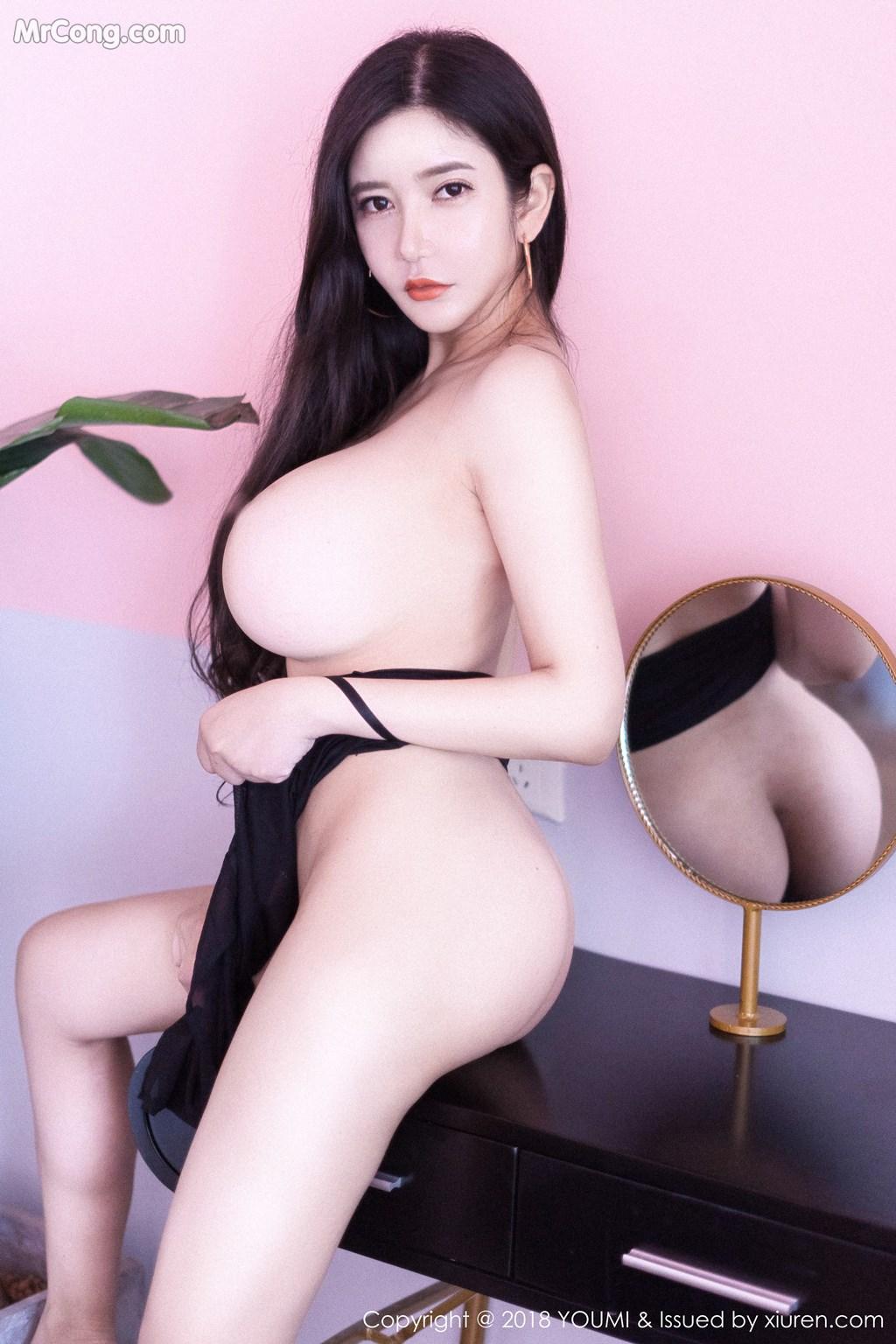 Image YouMi-Vol.222-MrCong.com-008 in post YouMi Vol.222: Người mẫu 心妍小公主 (45 ảnh)