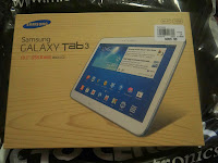 Blogger Opp: Samsung   Galaxy Tab 3 10.1   16GB   White + one year insurance (total prize value $458) Giveaway Sign Up