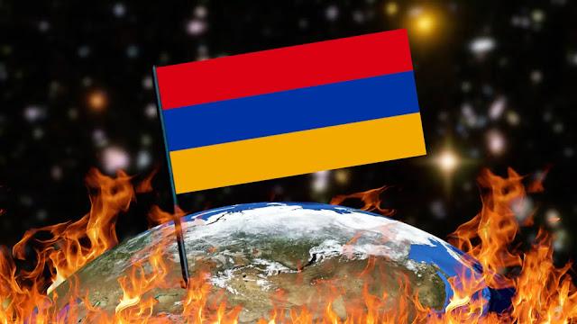 Queimando Bandeiras - Armênia