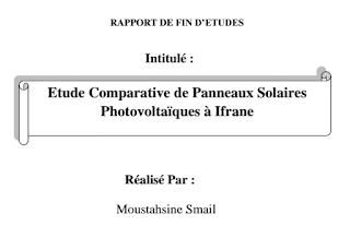 Etude Comparative de Panneaux