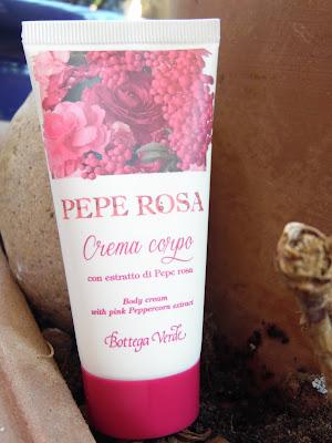 crema pepe rosa bottega verde