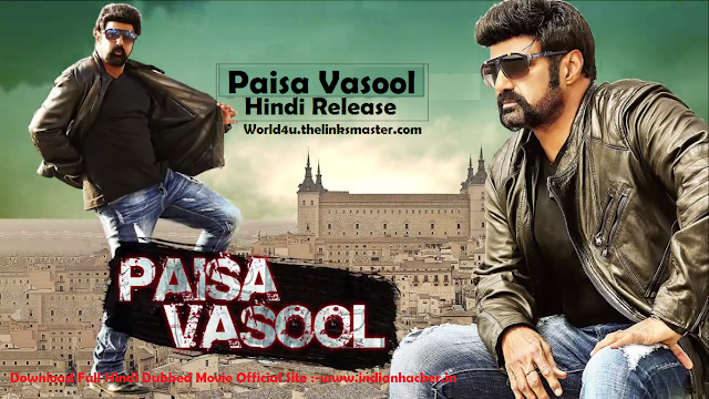 Paisa Vasool 2017 Official Hind Dubbed Reviews,Cast & Release DateDownload 1337x Movies 7starhd.info, 9kmovies.com, 9xfilms.org 300mbdownload.me, 9xmovies.info, 9xmovies.net, world4u,world4u.thelinksmaster.com, world4ufree, Worldfree4u.trade,torrent