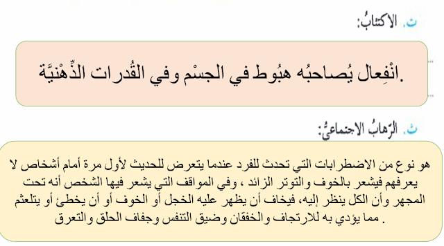 الإدمان على الانترنت لغة عربية صف ثامن فصل أول