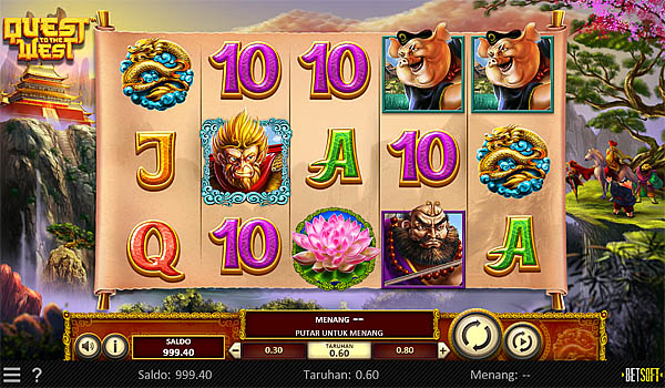Main Gratis Slot Indonesia - Quest To The West Betsoft