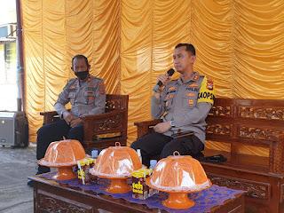 Jalin Silaturahmi, Kapolres Enrekang Laksanakan Kunker ke Polsek Jajaran