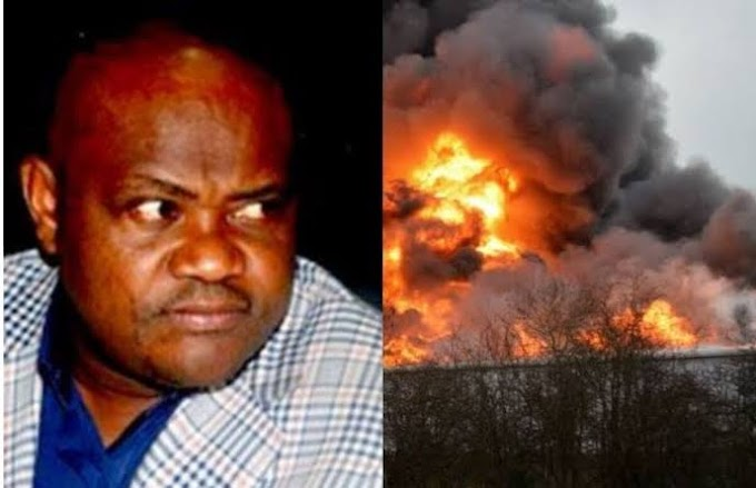 Three suspects arrested for detonating explosion at Governor Wike's father' church