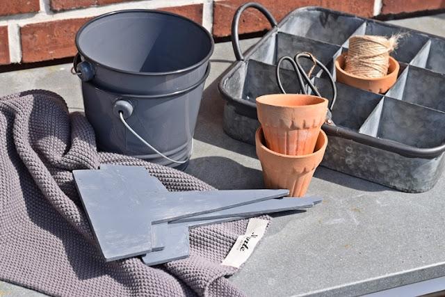 zinc box Garten utensils