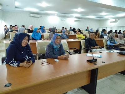 Pengukuhan Pengurus KAFE Unila dan Jalan Sehat Meriahkan Dies Natalis FEB Unila ke-54