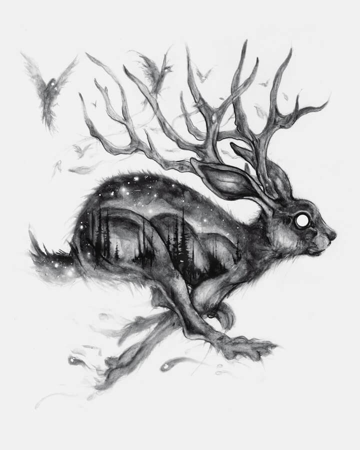 11-The-hare-with-antlers-Brian-Serway-www-designstack-co