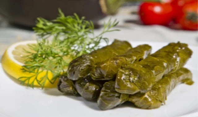 How to make grape leaves in a healthy way