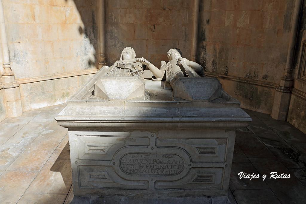 Sepulcro de las Capillas imperfectas del Monasterio de Batalha