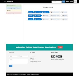 Jual Aplikasi Toko Online menggunakan PHP mysql Tugas Akhir - ALL Program Buatan | Tokopedia