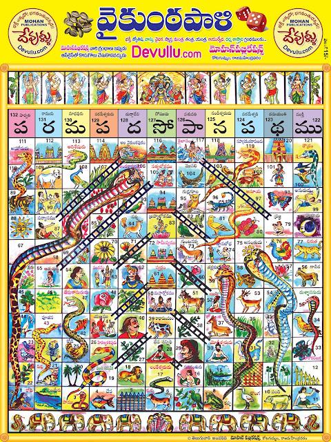 వైకుంఠపాళి | Paramapada Sopana Patam | పరమపద సోపాన పటము | Vaikuntapali | snakes and ladders | PARAMA PADHA SOPANAM - vaiKUNTAPALI - ANCIENT INDIAN TELUGU KIDS GAME