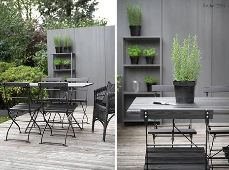 DIY-Kräuterregal für die Terrasse oder den Balkon - Ikea Hack