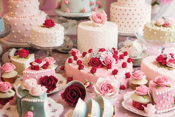 A Cath Kidston Cake Table