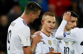 Irlandia Utara vs Jerman 1-3 Highlights - Kualifikasi Piala Dunia 2018