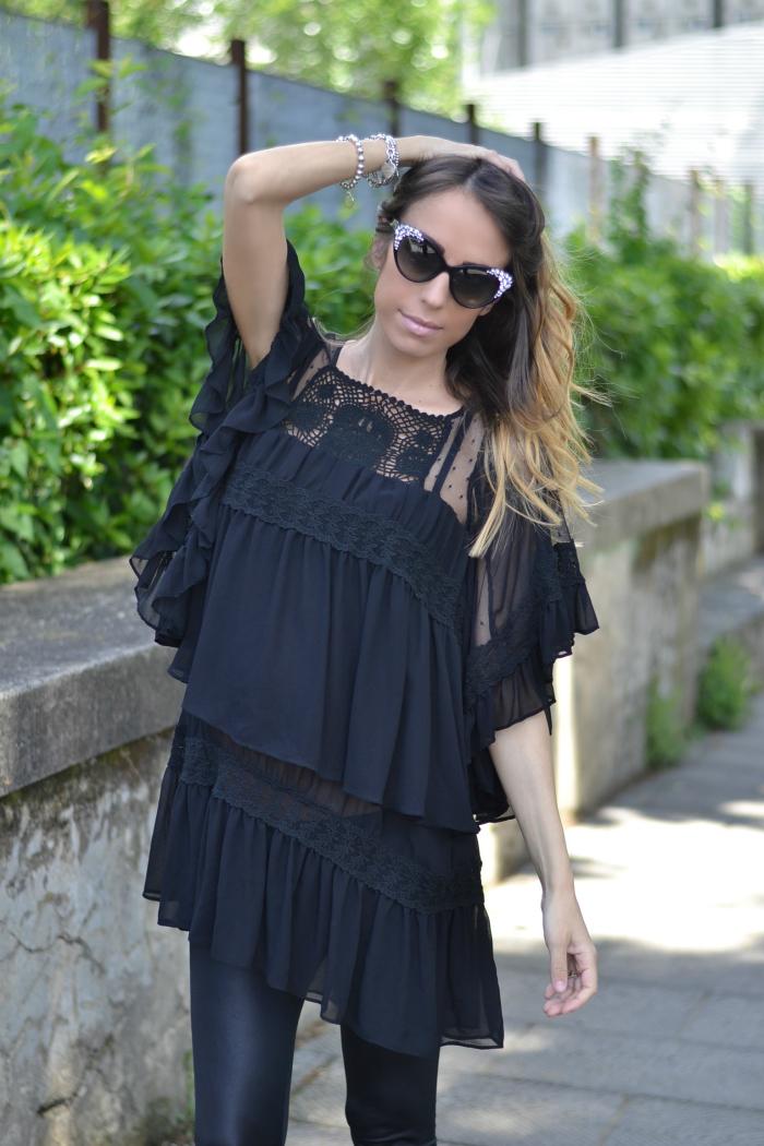 indossare il nero