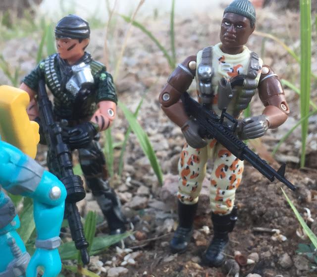 2004 Desert Patrol Stalker, Toys R Us Exclusive, Night Force Tunnel Rat, Black Major, Snake Eyes, Funskool, Night Force, 2019