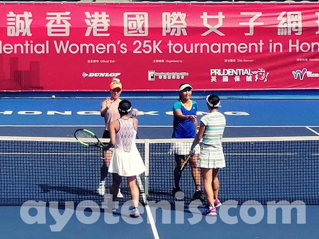 Aldila Sutjiadi/Paige Hourigan Melenggang ke Semifinal ITF Hong Kong 25k