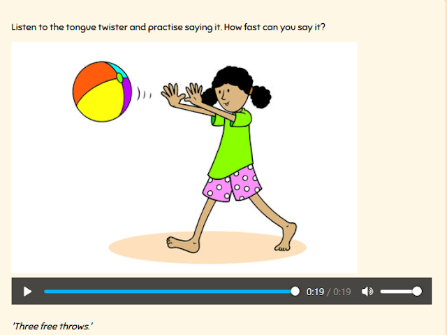 http://learnenglishkids.britishcouncil.org/en/tongue-twisters/three-free-throws