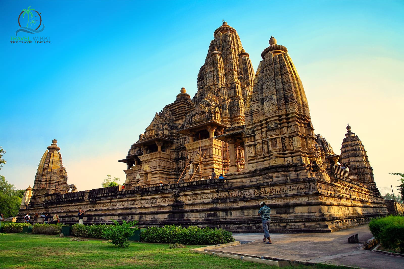Khajuraho in January