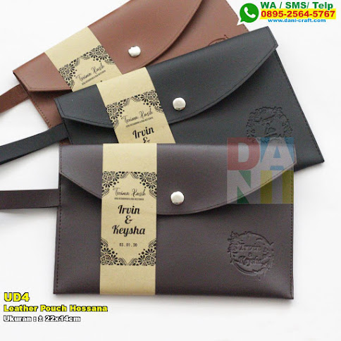 Leather Pouch Hossana