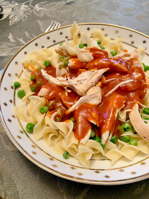 Machanka with chicken and noodles