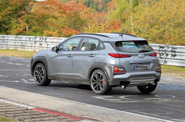 Lộ diện Hyundai Kona N mạnh tới 275 mã lực
