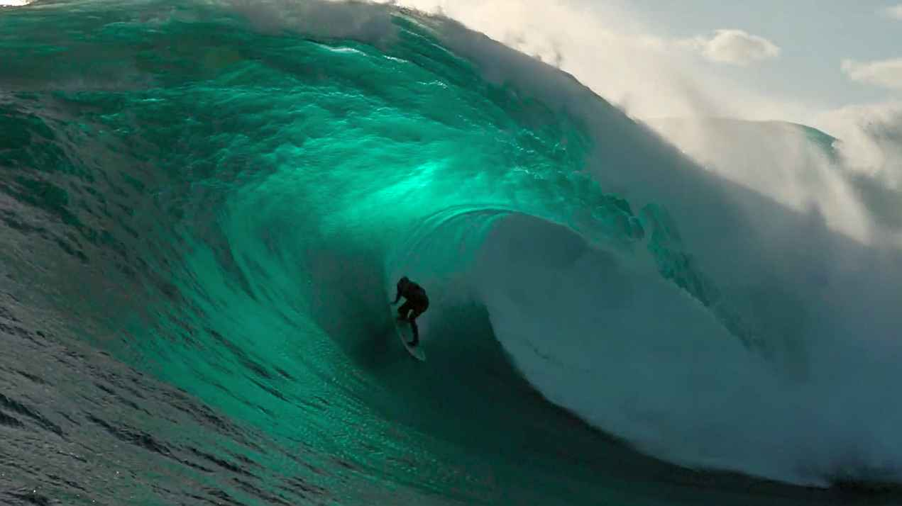 Big Wave Surfing Highlight reel The Right 2020